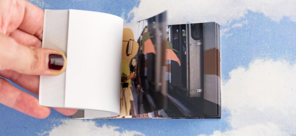 Madeleine va in città - Torpignattara - il flipbook sui quartieri di roma illustrato da ivano talamo dedicato al trenino dei laziali